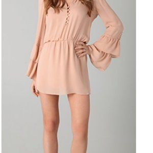 Parker Double Flared Bell Sleeve Dress